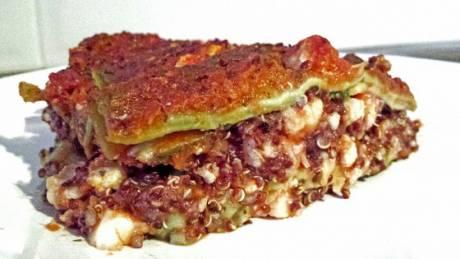 Gehackt lasagna