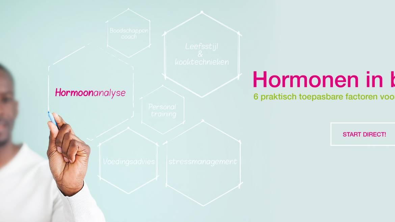 Hormonen als vertrekpunt, voor een optimale vitaliteit & gezondheid.